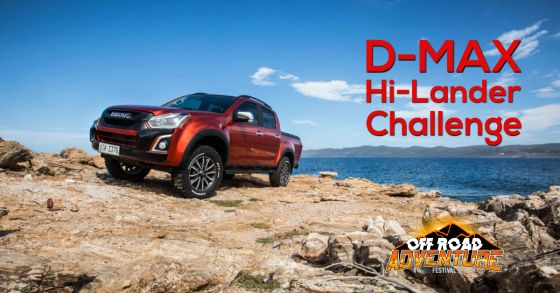 H ISUZU στο Off Road Adventure Festival με το Hi-Lander Challenge